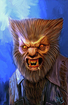 The Wolf-man by Mark Spears