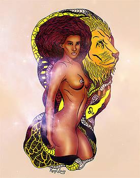 The Woman Leo by Kenal Louis