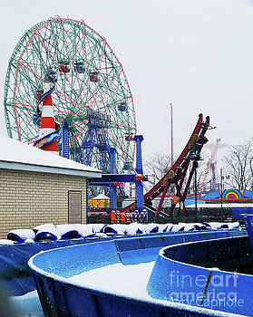 The Wonder Wheel by Mary Capriole