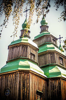 The Wooden Church by Azad Pirayandeh