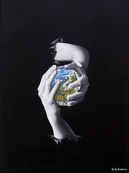 The world in your hands or Conflict by Kenneth-Edward Swinscoe