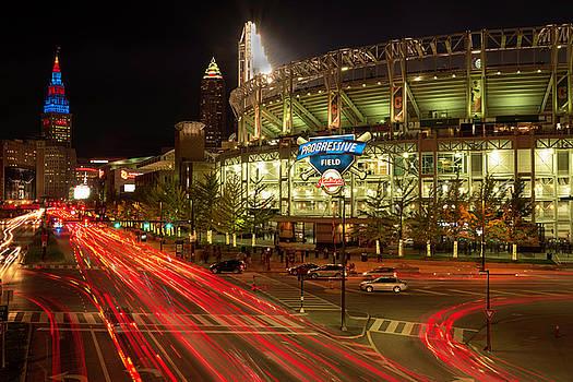 The World Series Cleveland Indians vs Chicago Cubs by Matt Shiffler