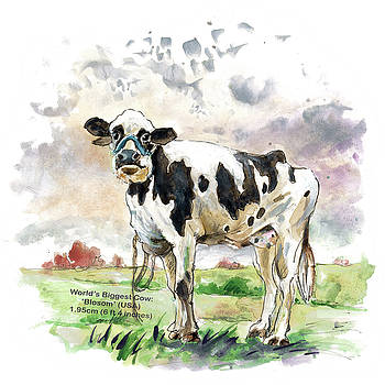 Miki De Goodaboom - The Worlds Biggest Cow