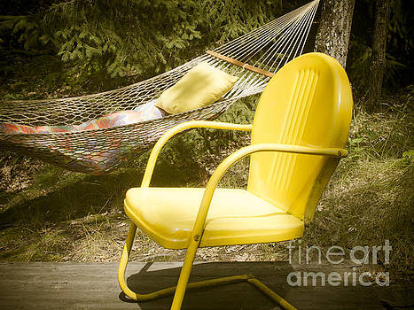 The Yellow Chair by Olga Zamora