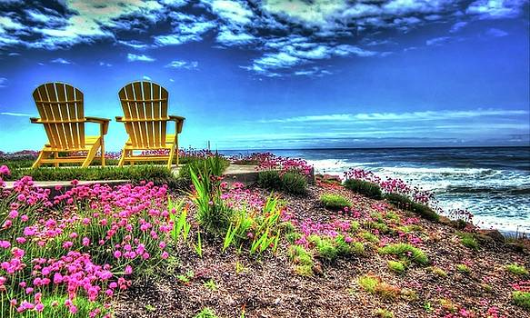 Thom Zehrfeld - The Yellow Chairs By The Sea Version 2