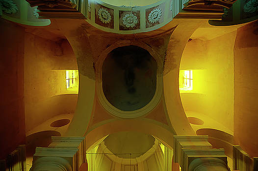 The Yellow Light Church 4 - La Chiesa Della Luce Gialla 4 by Enrico Pelos