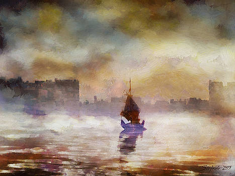 The Yellow Sunrise by Stefano Popovski