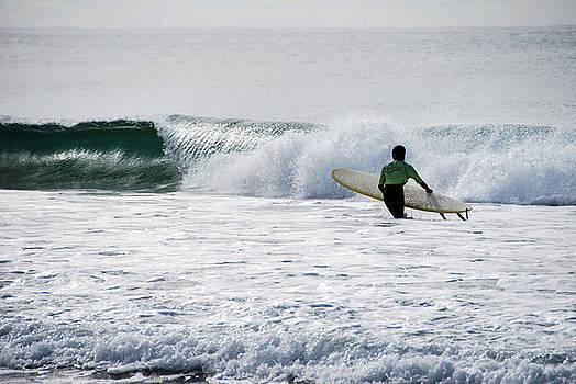 The Yellow Surfboard by Joe Scoppa