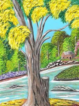 The Yellow Tree by Iris  Mora