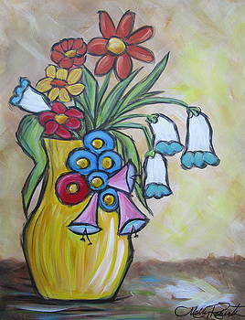 The Yellow Vase by Molly Roberts
