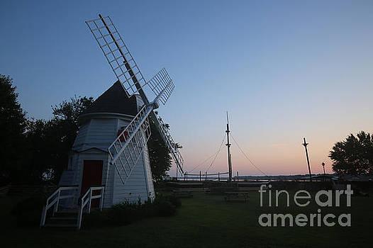 The Yorktown Windmill at Dawn by Rachel Morrison