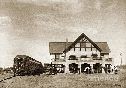California Views Mr Pat Hathaway Archives - The Yosemite Valley Railroad YVRR depot at  Merced California