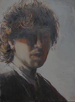 The young Rembrandt van Rijn by Lucia Hoogervorst