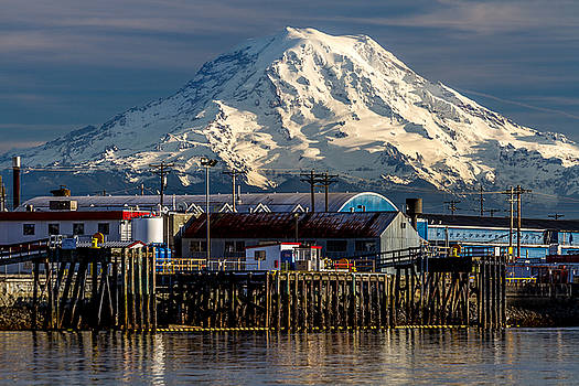 Thea Foss Waterway and Rainier 2 by Rob Green