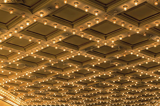 Theater Ceiling Marquee Lights by David Gn