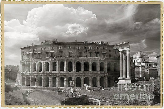 Theatre of Marcellus by Stefano Senise