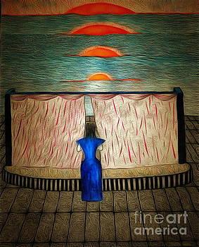 Theatre On The Beach by Yury Bashkin