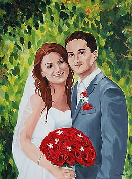 Their Wedding Day by Judy Swerlick