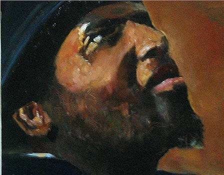 Thelonious Monk by Udi Peled
