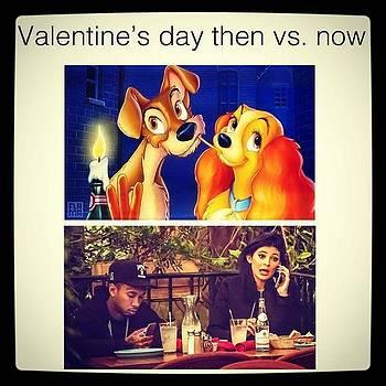 #then Vs #now #valentidesday by Oscar Lopez