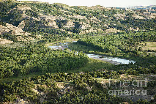 Theodore Roosevelt National Park - Oxbow Bend by Jason Kolenda