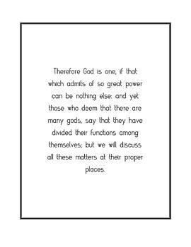 Therefore God is one, if... by Famous Quotes