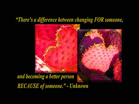 Tamara Kulish - Theres a Difference Between Changing FOR Someone, and Becoming a Better Person BECAUSE of Someone