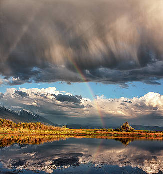 Theres a rainbow in every storm by Alan Anderson
