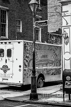 Kathleen K Parker - There Goes that Leidenheimer Truck Again - NOLA BW