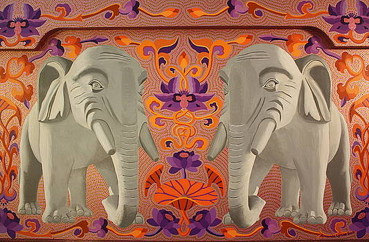 These Elephants are Democrats by Amanda  Lynne