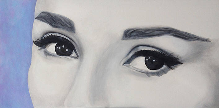 These Eyes 1 by Mr Dill