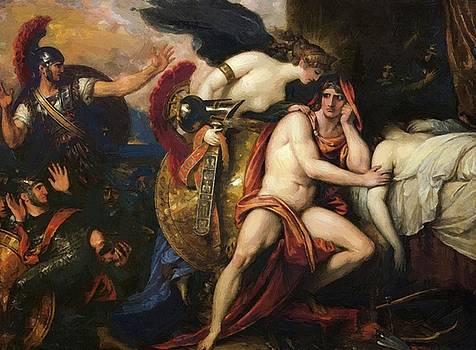 West Benjamin - Thetis Bringing The Armor To Achilles 1808