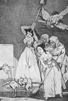 They Already Go Plucked 1799 by Goya Francisco