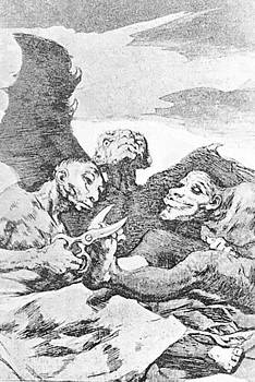 They Pare 1799 by Goya Francisco