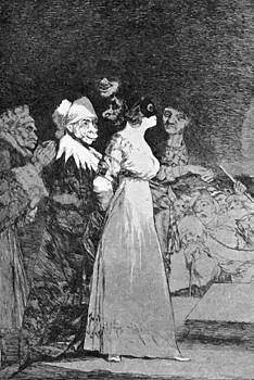 They Say Yes And Give Their Hand To The First Comer 1799 by Goya Francisco