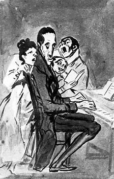 They Sing For The Composer by Goya Francisco