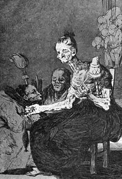 They Spin Finely 1799 by Goya Francisco