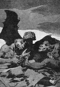 They Spruce Themselves Up 1799 by Goya Francisco