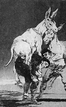 They Who Cannot 1799 by Goya Francisco