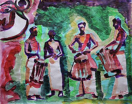 Theyyam by Abin Raj