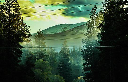 Thick Smoke in the Smokey Mountains by Chaznik Raab