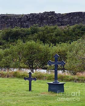 Thingvellir Church Cemetery, Iceland by Catherine Sherman