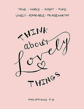 Think About Lovely Things by Nancy Ingersoll