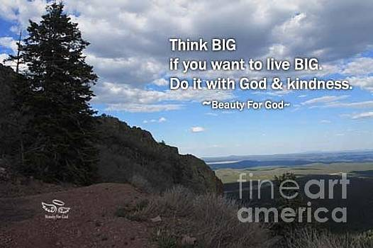 Think Big by Beauty For God