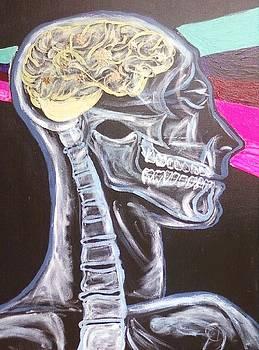 Thinking by Dorine Coello