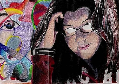 Thinking by Maritza Montnegro