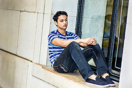 Alexander Image - Young Boy Thinking Outside