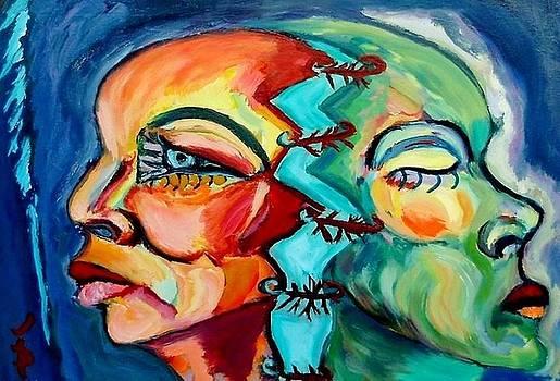 Thinking Woman by Daniela Isache