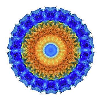 Sharon Cummings - Third Eye Mandala Art by Sharon Cummings