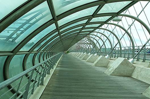 Third millenium bridge, Zaragoza, Spain by Tamara Sushko
